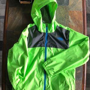 North Face boys xl (18/20) waterproof jacket.  EUC